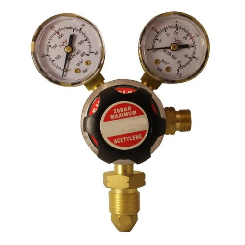 Futuris Acetylene Regulator Single Stage Twin Gauge Gas Regulators