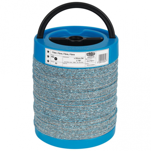 Tyrolit Zirconium Premium Fibre Disc 125mm 40G Spined